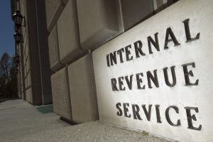 An IRS Building.